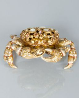 Gavin Bejeweled Crab Box   Jay Strongwater