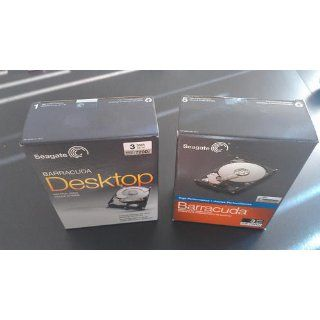 "Seagate Desktop HDD 3TB 7200RPM SATA 6 Gb/s 64MB Cache 3.5""   Internal Drive Retail Kit (STBD3000100) Computers & Accessories"
