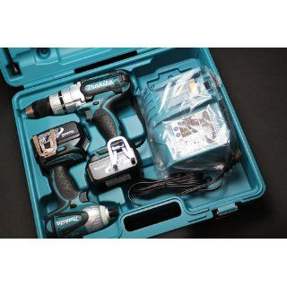 Makita LXT218 18 Volt LXT Lithium Ion Cordless 2 Piece Combo Kit   Power Tool Combo Packs