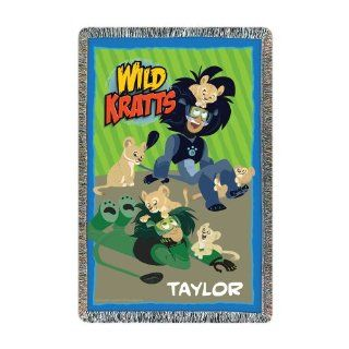 Wild Kratts Lion Around Throw   Throw Blankets