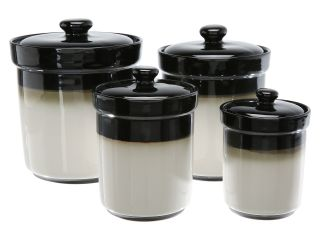 Sango Nova Set of 4 Canisters Black
