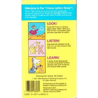 Know the Alphabet: Letter and Sound Games! (Video Tape: A Golden Book Step Ahead Video) (VHS: 30 Minutes): Timmy Tiger, Western Publishing: 9780307138583: Books
