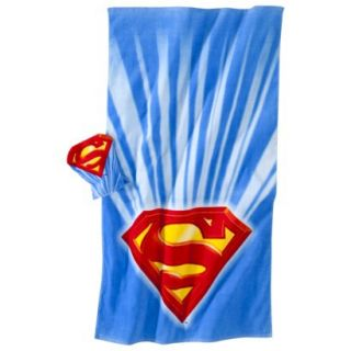 Justice League Superman Bath Towel/ Wash Mitt Set