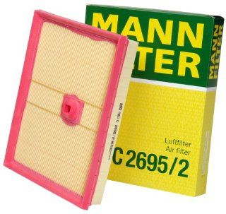 Mann Filter C 2695/2 Air Filter: Automotive