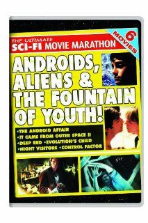 The Ultimate Sci Fi Movie Marathon: The Android Affair / It Came From Outer Space II / Deep Red / Evolution's Child / Night Visitors / Control Factor: Elizabeth Pena, Michael Biehn, Faith Ford, Adam Baldwin, Brian Kerwin, Joanna Pacula, Thomas Gibson,