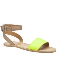Mm6 By Maison Martin Margiela Neon Ankle Sandal