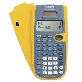 TI 30XS MultiView EZ Spot Calculator. The teacher kit contains 10 EZ Spot Calculators 1 storage caddy  Electronics