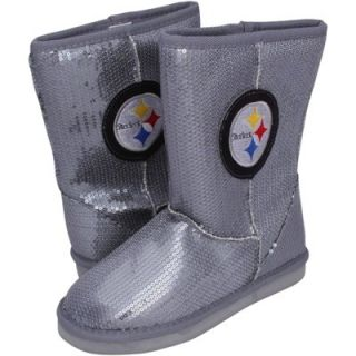 Pittsburgh Steelers Ladies High End Sequin Boots