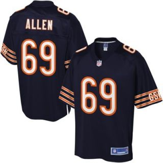 Pro Line Mens Chicago Bears Jared Allen Team Color Jersey