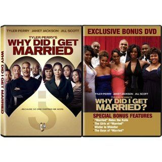 "Tyler Perry's Why Did I Get Married LIMITED EDITION 2 DVD SET   Full Screen Movie Plus BONUS DISC featuring ""Married"" Rides the Rails; Winter in Whistler; The Girls of ""Married; & The Guys of ""Married""   Janet Jackson, Jill"