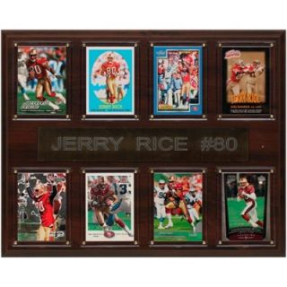 Jerry Rice San Francisco 49ers 12 x 15 All Time Great Players Plaque