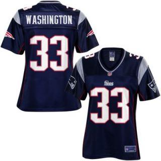 Pro Line Womens New England Patriots Leon Washington Team Color Jersey