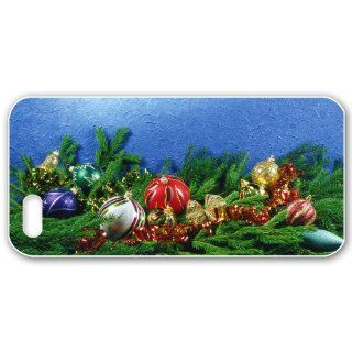 Marry Christmas Case for IPHONE 5 Back Case with Christmas Design Pictures Different spheres: Cell Phones & Accessories