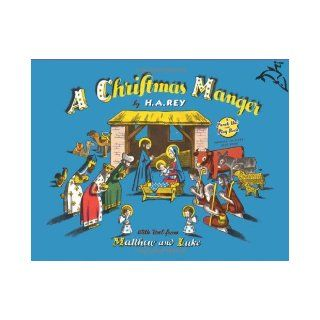 A Christmas Manger (Punch Out And Play Books): H. A. Rey: 9780547238944:  Kids' Books
