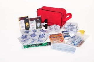 Compact Survival Kit Containing Essential Items Needed to Survive 72 Hours After Any Natural or Man Made Disaster : Camping First Aid Kits : Sports & Outdoors