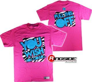 DOLPH ZIGGLER   YOU WISH YOU COULD   WWE WRESTLING T SHIRT   SIZE ADULT SMALL: Sports & Outdoors