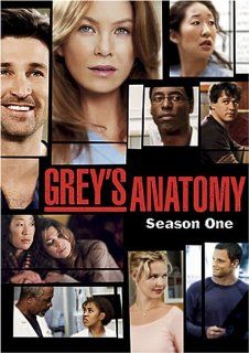 Grey's Anatomy: Season 1: Ellen Pompeo, Sandra Oh, Patrick Dempsey, Isaiah Washington, Katherine Heigl, Justin Chambers, Chandra Wilson, Jr. James Pickens, T.R. Knight: Movies & TV
