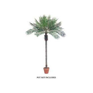 8.5' Artificial Silk Date Palm Tree