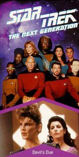 Star Trek   The Next Generation, Episode 87: Devil's Due [VHS]: LeVar Burton, Gates McFadden, Gabrielle Beaumont, Robert Becker, Cliff Bole, Timothy Bond, David Carson, Chip Chalmers, Richard Compton, Robert Iscove, Winrich Kolbe, Peter Lauritson, Robe
