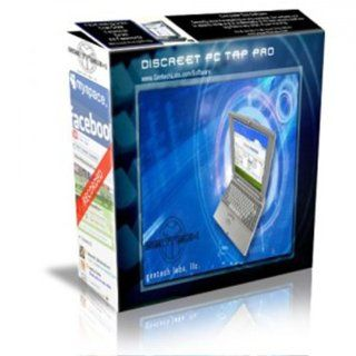 Spy Software, Discreet Pc Tap Pro 4.9 (CD + Download) Spy software. Monitor what your kids doing online. Spy software to monitor Employees. PC Only: Software