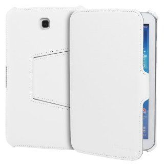 GreatShield VANTAGE Series Multi Stand Slim Leather Case Cover for Samsung Galaxy Tab 3 7.0 / P3200 (White) Computers & Accessories