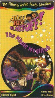 Alef Bet Blast Off!  The Whole Megillah  Episode Eight (VHS): Jay Sanderson, John Axness, Erin  Simms: Movies & TV
