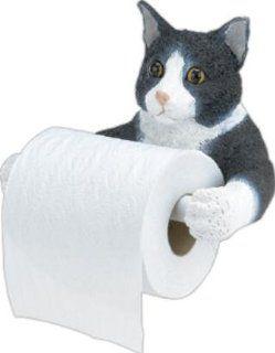 Kitty Cat Toilet Paper Holder