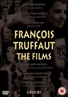 Fran�ois Truffaut Films 6 DVD Set ( La Femme d'� c�t� / Les 400 coups / Tirez sur le pianiste / Jules et Jim / Les Deux anglaises et le continent / Vivement dimanche! ) ( The Woman [ NON USA FORMAT, PAL, Reg.2 Import   United Kingdom ]: Movies & TV
