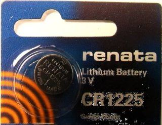 Renata   CR1225 Lithium Battery for Watches, Flashlights, Small Tools, Etc. (Free US Shipping) Watches