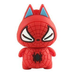 Cute Spider man USB 2.0 Enough Memory Stick Flash Pen Drive 8gb: Electronics
