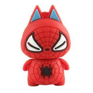 Cute Spider man USB 2.0 Enough Memory Stick Flash Pen Drive 8gb: Electronics