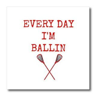 ht_172356_3 Xander sports sayings   every day im ballin, lacrosse sticks picture, red lettering   Iron on Heat Transfers   10x10 Iron on Heat Transfer for White Material Patio, Lawn & Garden