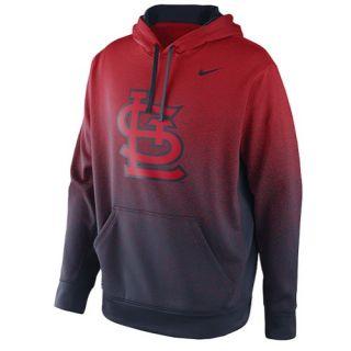 Nike MLB Sublimated KO Hoodie   Mens   Baseball   Clothing   St. Louis Cardinals   Red
