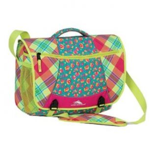 High Sierra Tank Messenger Bag (Caddy Smash, Posy Pop, Chartreuse): Sports & Outdoors