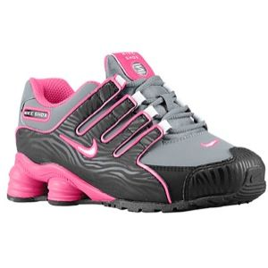 Nike Shox NZ   Girls Preschool   Running   Shoes   Pink Glow/White/Metallic Silver/Pink Glow