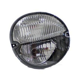 PASSENGER SIDE CAPA SIGNAL LIGHT Pontiac Grand Prix, Pontiac Solstice SIGNAL/PARK/FOG LIGHT ASSEMBLY; EXCEPT GXP MODEL [INCLUDES BOTH BULBS/SOCKET AND WIRING]: Automotive