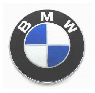 BMW Genuine Hood Roundel Emblem 82 mm for All Model Except Z4 Fits Most Trunk See Description Automotive