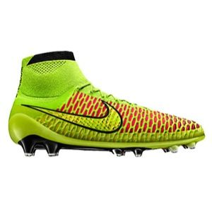 Nike Magista Obra FG   Mens   Soccer   Shoes   Volt/Metallic Gold/Black