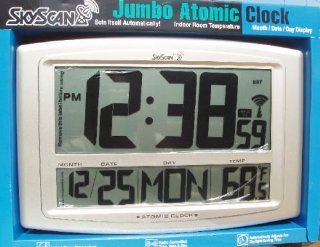 Skyscan Jumbo Atomic Clock Large Numbers Can Be Read From Far Away : Everything Else