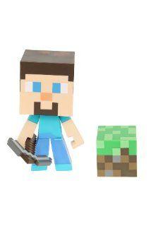 Jinx Minecraft Steve? Vinyl Figure: Toys & Games