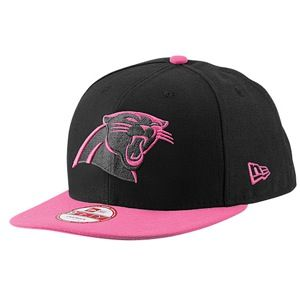 New Era NFL Breast Cancer Awareness Snapback   Mens   Football   Accessories   Carolina Panthers   Black/Pink