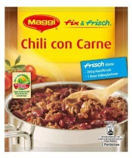 Maggi Fix Chili Con Carne 45g German : Chili Soups : Grocery & Gourmet Food
