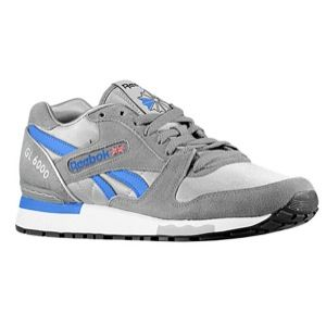Reebok GL 6000   Mens   Running   Shoes   Foggy Grey/Tin Grey/Vital Blue/White/Black