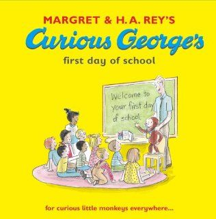 Curious George's First Day at School (Curious George Book & CD): Margret Rey: 9781406313918:  Children's Books