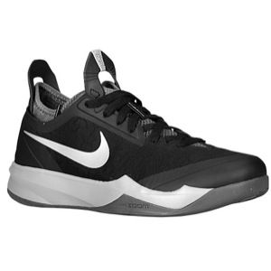 Nike Zoom Crusader   Mens   Basketball   Shoes   Black/Dark Grey/Metallic Silver