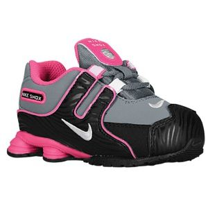 Nike Shox NZ   Girls Toddler   Running   Shoes   Pink Glow/White/Metallic Silver/Pink Glow
