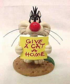 "Give a Cat a Home  Looney Tunes Goebel Spotlight Collection Junior's ""Oh, Give Me a Home"" Toys & Games"