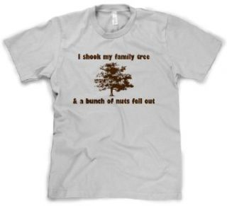 I Shook My Family Tree And Found A Bunch Of Nuts T Shirt Funny Reunion Tee at  Men�s Clothing store Fashion T Shirts