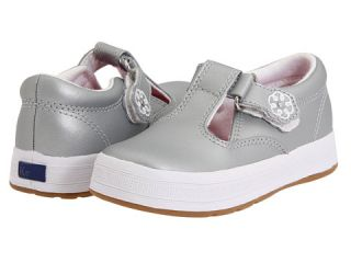 Keds Kids Daphne T Strap Silver (Toddler/Little Kid) Silver