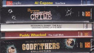 A&E Television The Mafia Ultimate Collection : Biography Sammy The Bull Gravano Giving Up The Mob , Biography Al Capone Scarface , Paddy Whacked The Irish Mob , The Godfathers Collection Box Set , The World History Of Organized Crime Box Set : 7 Disc S